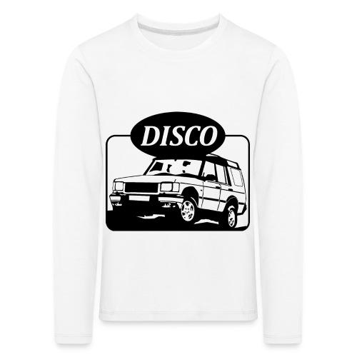 landroverdisco01dblack - Premium langermet T-skjorte for barn