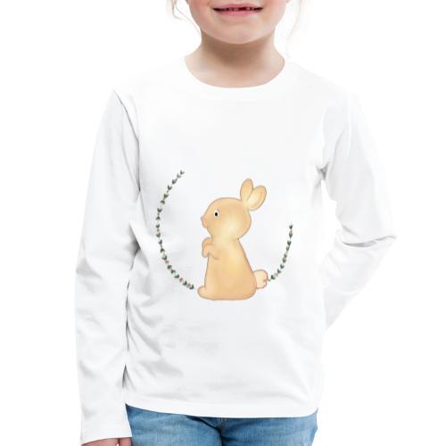 Häschen - Kinder Premium Langarmshirt