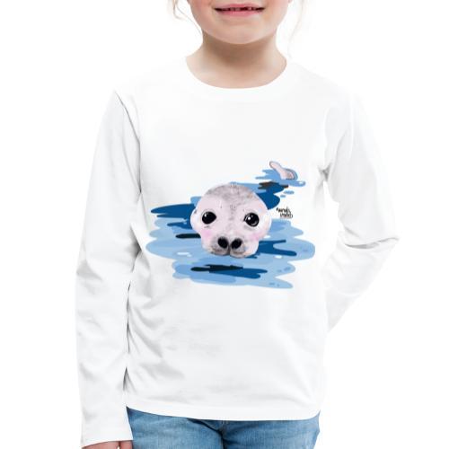 Lieve otter - T-shirt manches longues Premium Enfant
