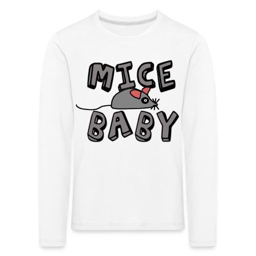 mice mice baby - ice ice baby - Kinder Premium Langarmshirt