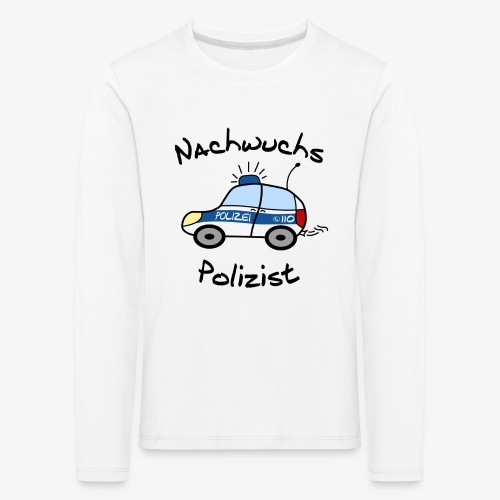 Nachwuchs Polizist - Kinder Premium Langarmshirt