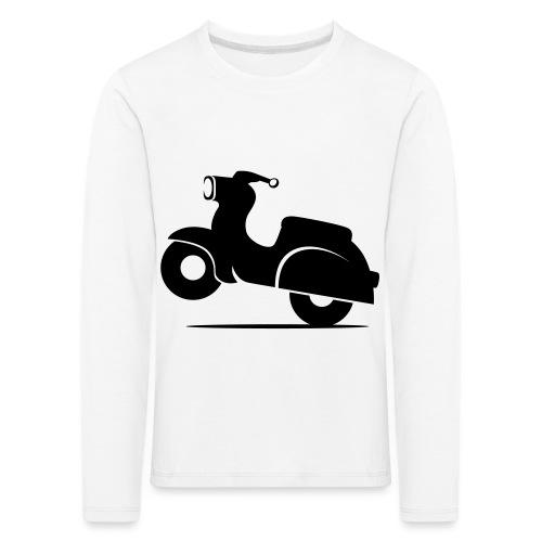 Schwalbe knautschig - Kinder Premium Langarmshirt