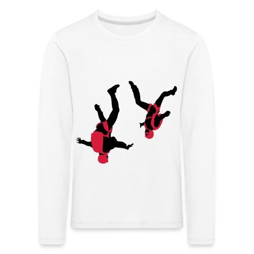 parachutisme Free Fly - T-shirt manches longues Premium Enfant