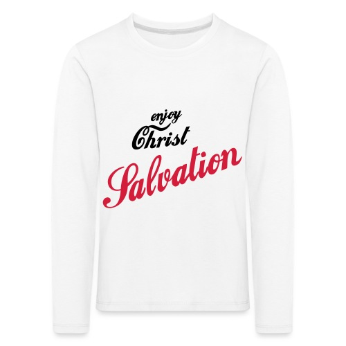 salvation - Kinder Premium Langarmshirt