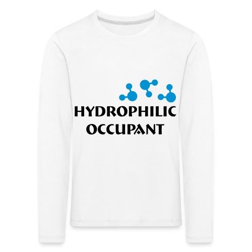 Hydrophilic Occupant (2 colour vector graphic) - Kids' Premium Longsleeve Shirt