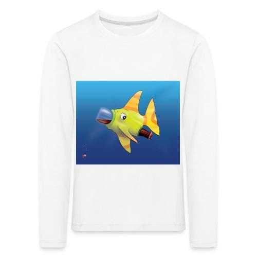Greedy Fish - T-shirt manches longues Premium Enfant