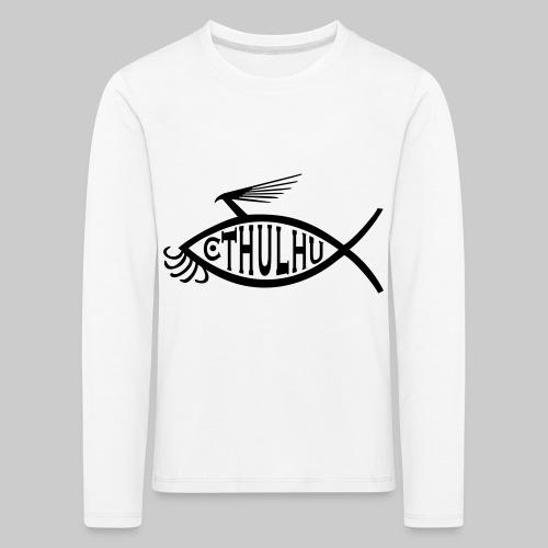 Cthulhu Fisch nP - Kinder Premium Langarmshirt