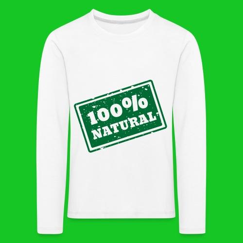 100% natural PNG - Kinderen Premium shirt met lange mouwen