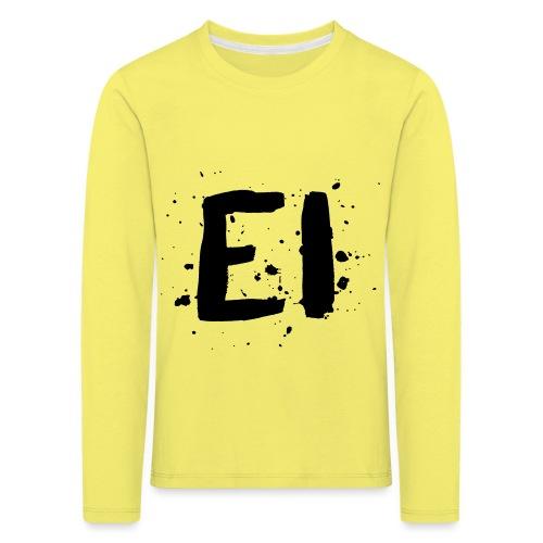 EI - Lasten premium pitkähihainen t-paita