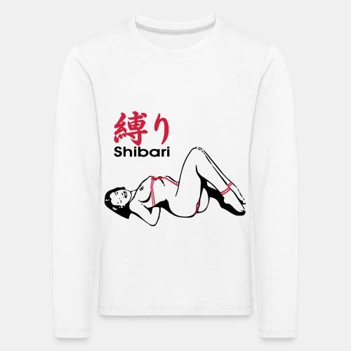 bound Shibari 2col - Kinder Premium Langarmshirt