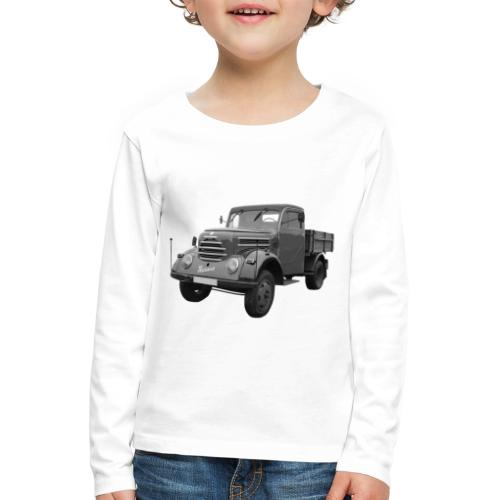 Garant K 30 Robur Zittau DDR Oldtimer Lkw - Kinder Premium Langarmshirt