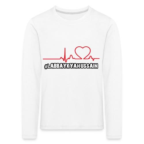 HeartBeat - Kids' Premium Longsleeve Shirt