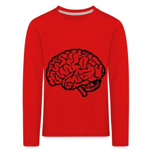 cerveau - T-shirt manches longues Premium Enfant