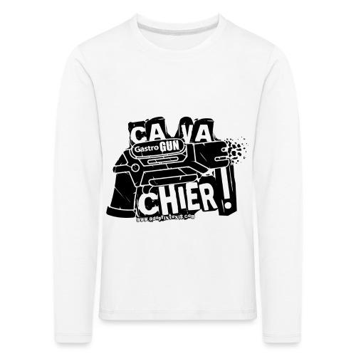 gastrogun - T-shirt manches longues Premium Enfant