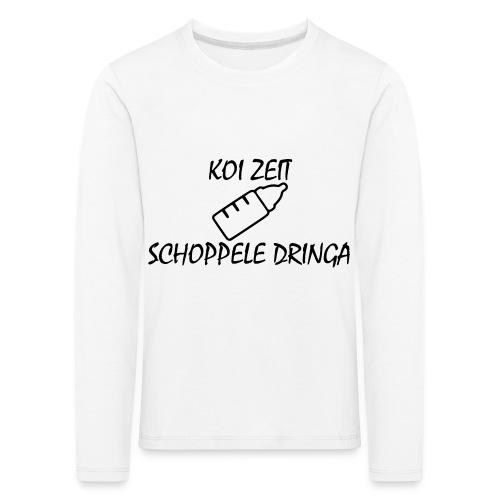 KoiZeit - Schoppele - Kinder Premium Langarmshirt