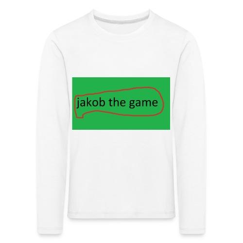 jakob the game - Børne premium T-shirt med lange ærmer