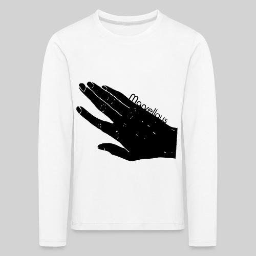 Marvellous Hand - Kinder Premium Langarmshirt