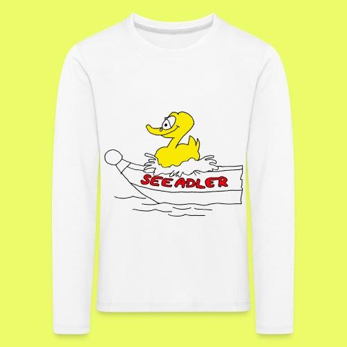 Seeadler_rot - Kinder Premium Langarmshirt