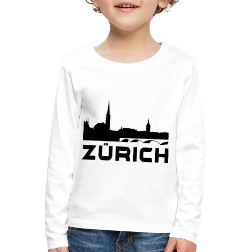 Zürich - Kinder Premium Langarmshirt