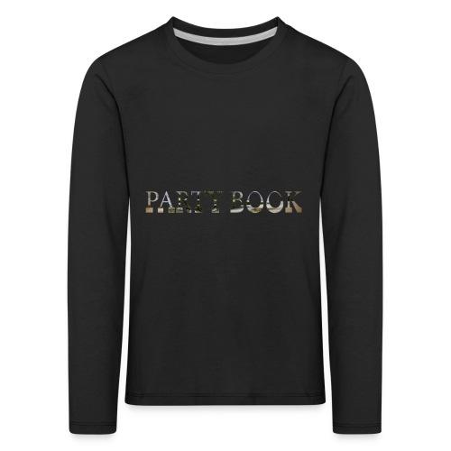 PartyBook - Kinder Premium Langarmshirt