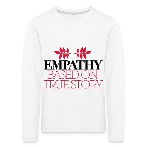 empathy story - Koszulka dziecięca Premium z długim rękawem