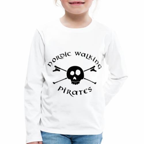 NordicWalkingPirates_2017 - Kinder Premium Langarmshirt
