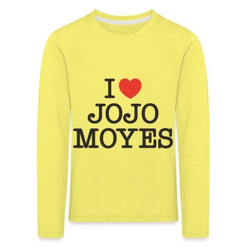 I LOVE JOJO MOYES - Børne premium T-shirt med lange ærmer