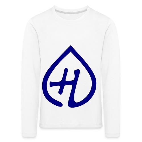 Hangprinter logo - Långärmad premium-T-shirt barn