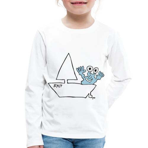 Segelmonster Sylt - Kinder Premium Langarmshirt