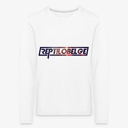 M1.2 Reptilobelge - T-shirt manches longues Premium Enfant