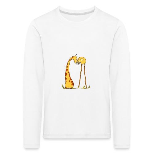 Maglietta San Valentino Tenera | con Animali - Maglietta Premium a manica lunga per bambini