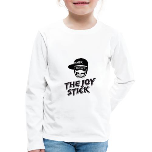 The Joy Stick - Gamer - Lasten premium pitkähihainen t-paita