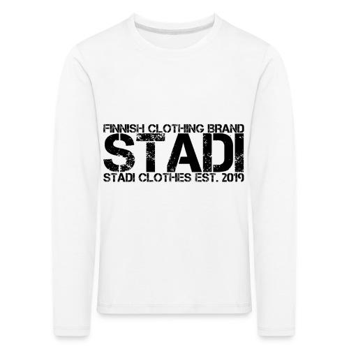 Stadi Clothes - Lasten premium pitkähihainen t-paita