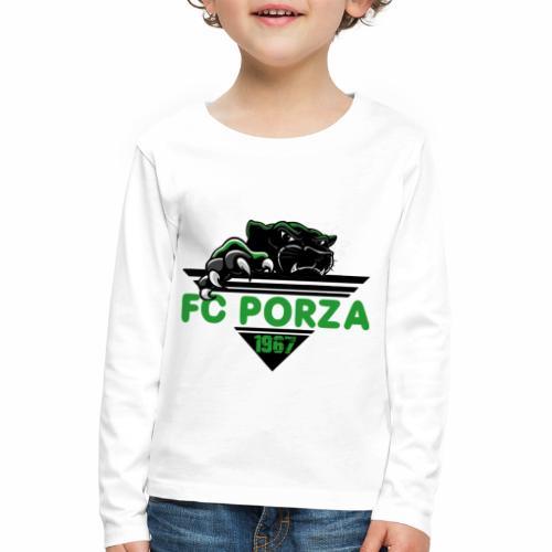 FC Porza 1 - Kinder Premium Langarmshirt