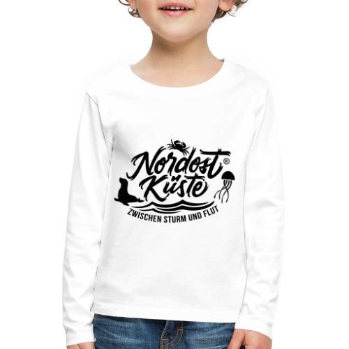 Nordost Küste Logo #11 - Kinder Premium Langarmshirt