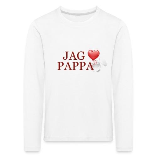 Jag älskar pappa - Långärmad premium-T-shirt barn