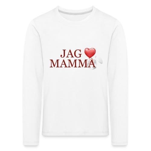 Jag älskar mamma - Långärmad premium-T-shirt barn