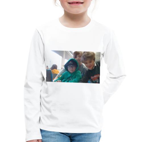 hihi - Långärmad premium-T-shirt barn