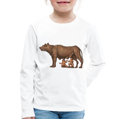 Wilczyca kapitolińska   Capitoline Wol - Koszulka dziecięca Premium z długim rękawem