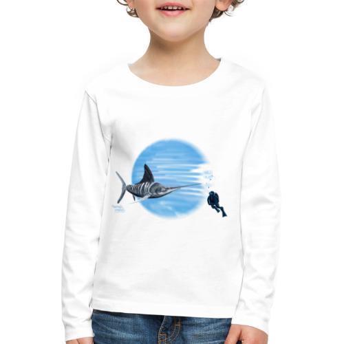 Zee monster - T-shirt manches longues Premium Enfant