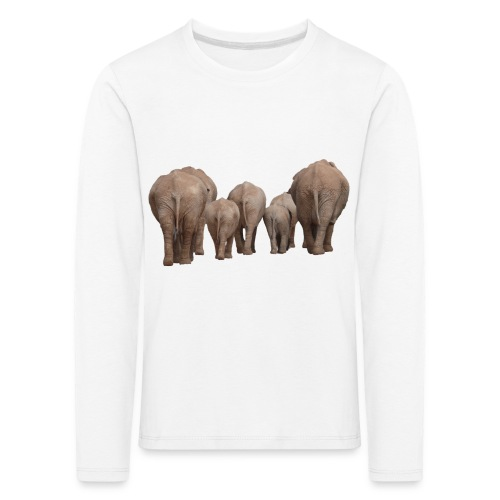 elephant 1049840 - Maglietta Premium a manica lunga per bambini