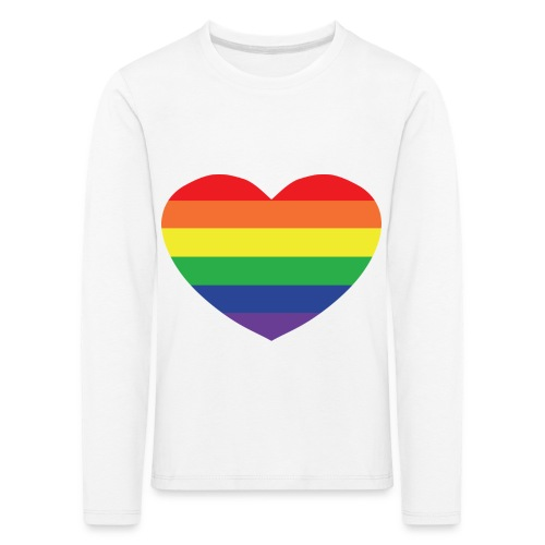 Rainbow heart - Kids' Premium Longsleeve Shirt