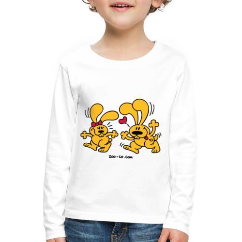 Hot Bunnies - Kids' Premium Longsleeve Shirt