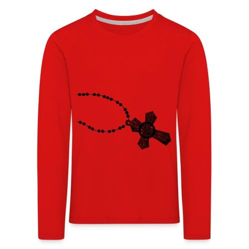 kruis 2 png - Kinderen Premium shirt met lange mouwen