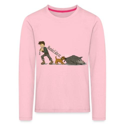 Hundeführer - Kinder Premium Langarmshirt