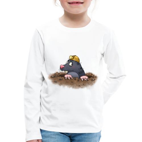 Maulwurf - Kinder Premium Langarmshirt