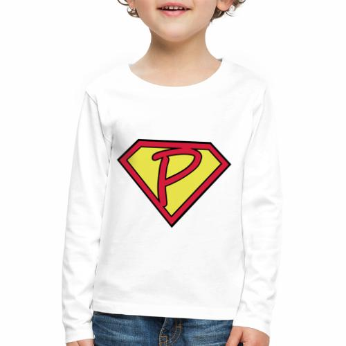 superp 2 - Kinder Premium Langarmshirt