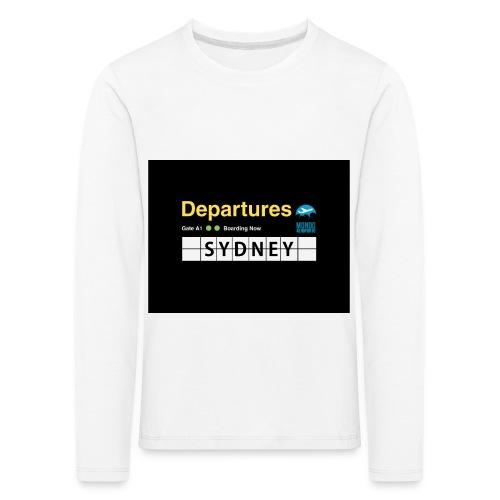 SYDNEY png - Maglietta Premium a manica lunga per bambini