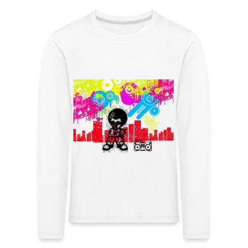 T-Shirt Happiness Uomo 2016 Dancefloor - Maglietta Premium a manica lunga per bambini