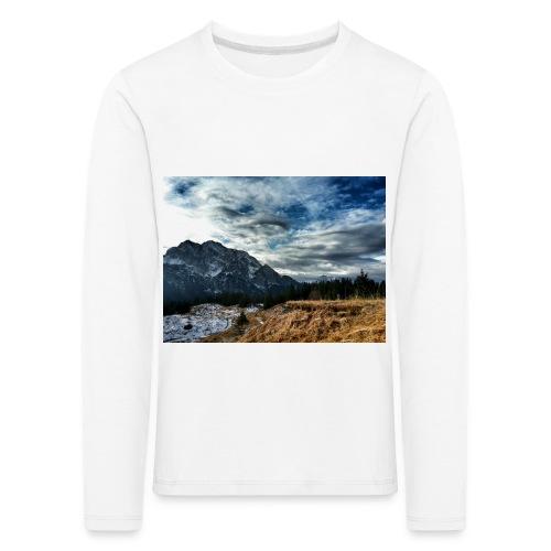 Wolkenband - Kinder Premium Langarmshirt